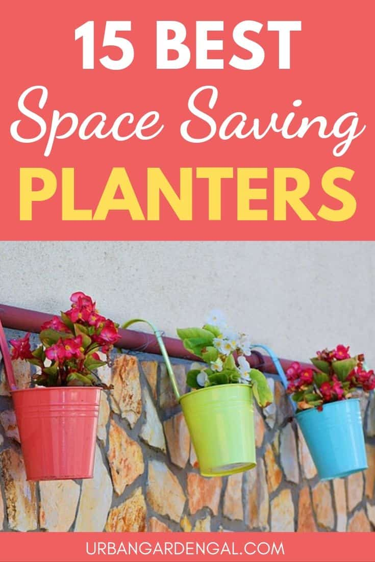 Best space saving planter pots